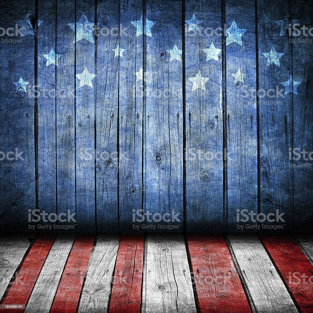 USA background - Royalty-free Abstract Stock Photo