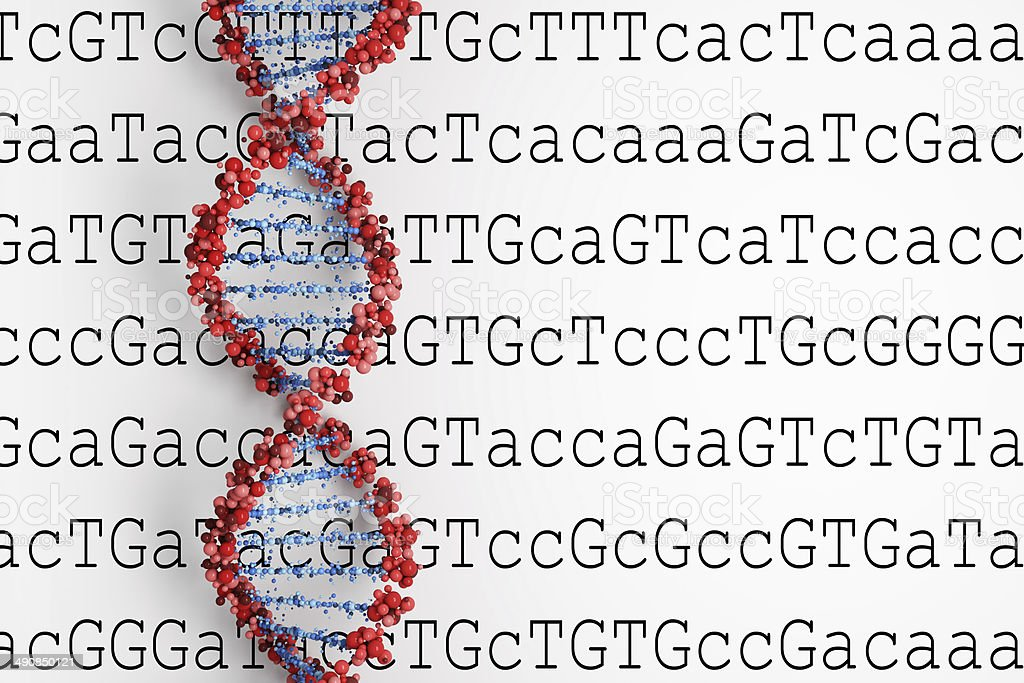 DNA background royalty-free stock photo