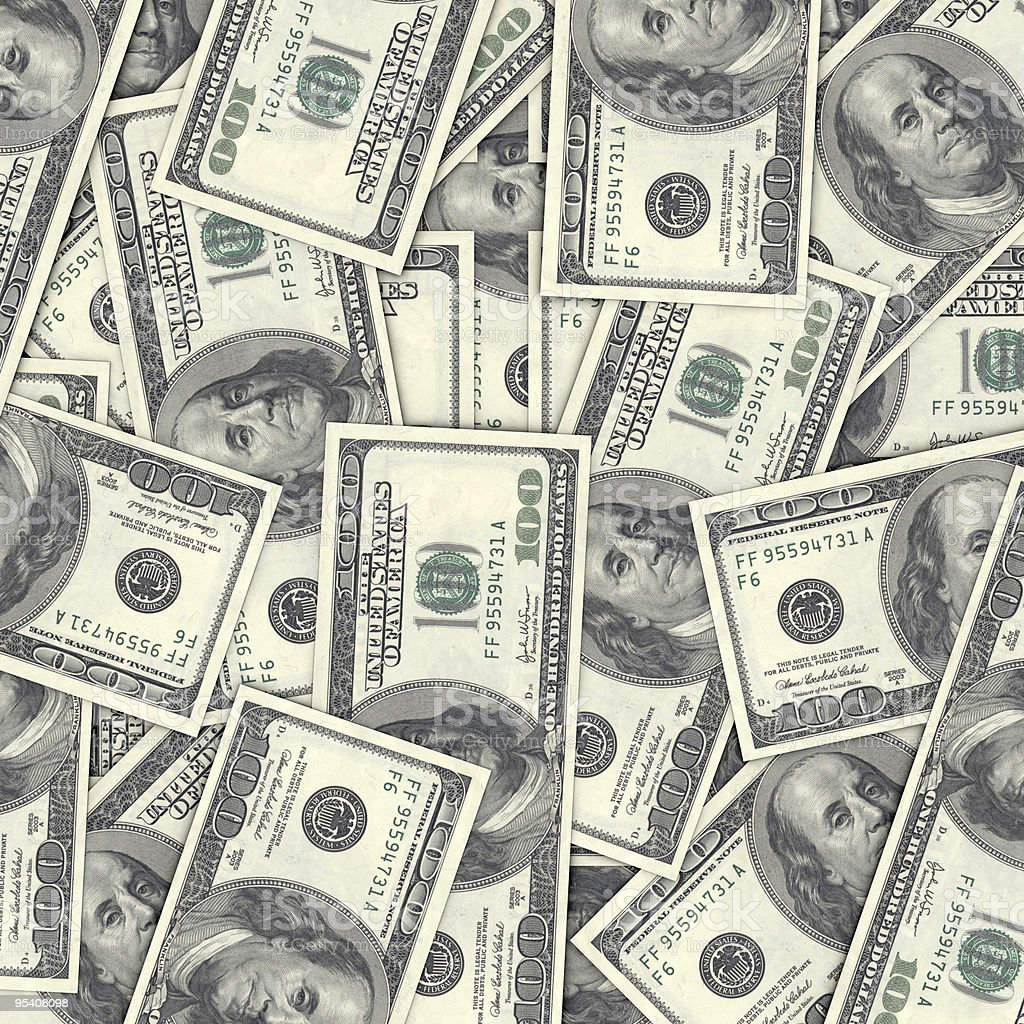USD Hintergrund Lizenzfreies stock-foto