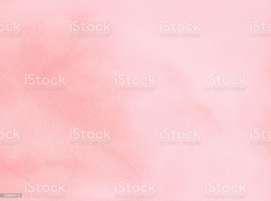 Background - pink abstract watercolour painting stock photo