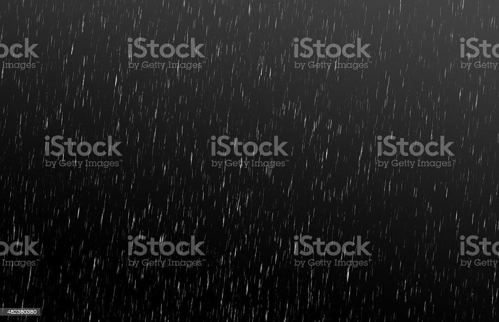 Background rain