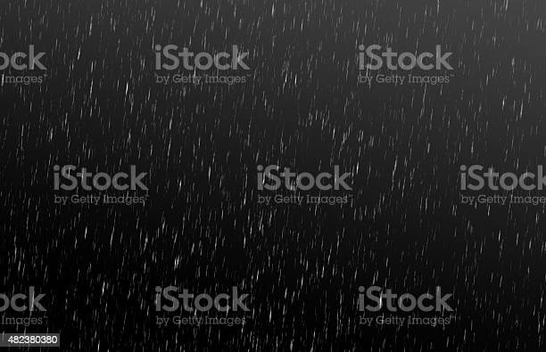 Background rain