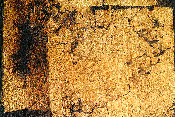 Hintergrund, echtes Blattgold – Foto