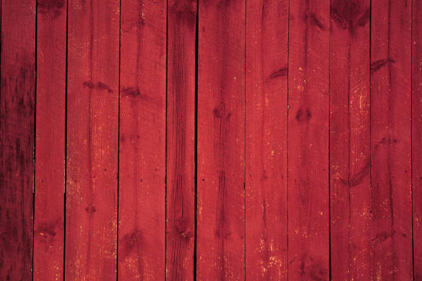 Background Red Painted Wood Building Barn Rustic backdrop barn stock pictures, royalty-free photos & images