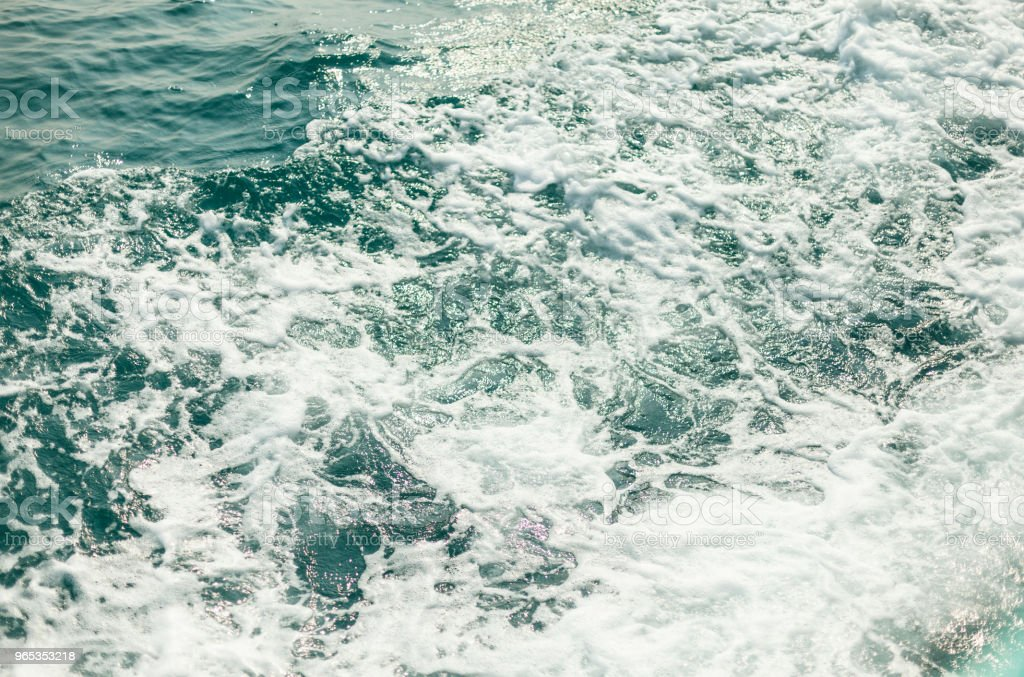 Background shot of aqua sea water surface royalty-free stock photo
