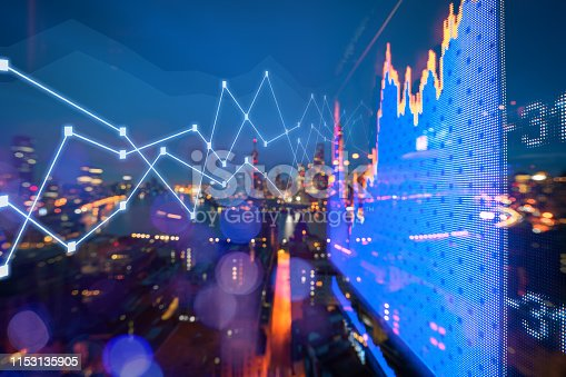 1019729218 istock photo Background stock market and finance economic 1153135905