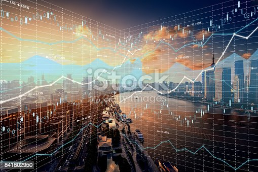 Stock Market and Exchange, Data, Graph, Chart, Shanghai