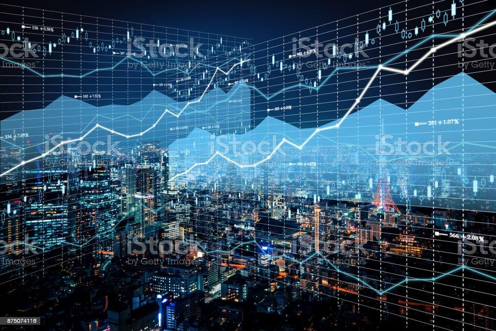 Background stock market and finance economic stock photo