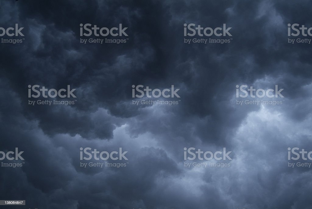 background - stormy sky #2 stock photo