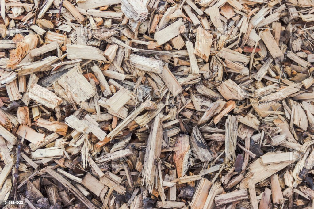 Background texture - bark mulch stock photo