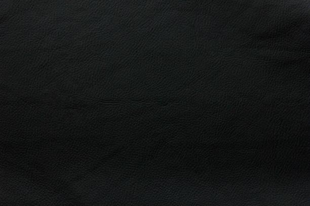 background texture black leather stock photo