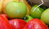 Peach, Apple - Fruit, Food, Food and Drink, Fruit
