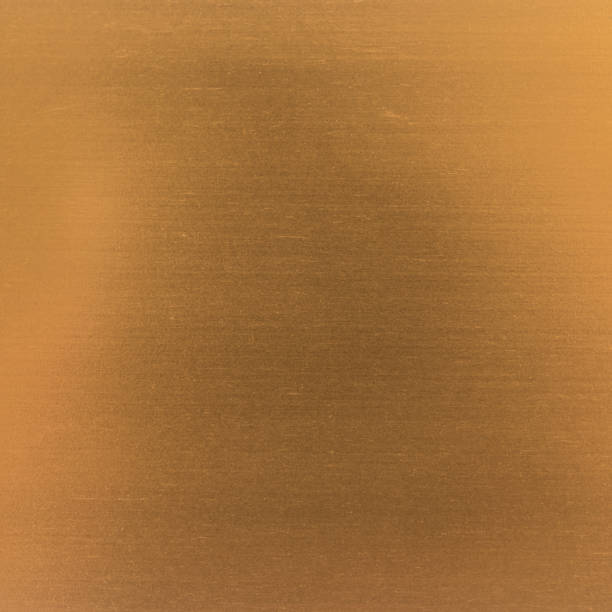 Background texture of a shiny metal sheet. Metal texture stock photo
