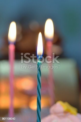 Background Texture Of Burning Colorful Birthday Cake Candles Stock Photo More Pictures Affectionate