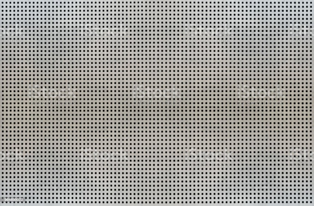Background texture of metal mesh cells isolated on white background royalty-free stock photo