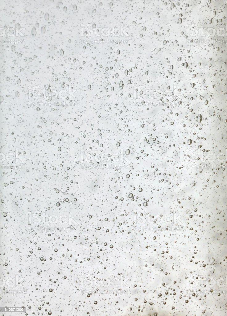 透明な白いガラスの背景テクスチャ ストックフォト