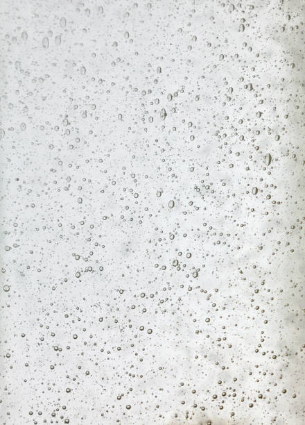 Background texture of transparent white glass stock photo