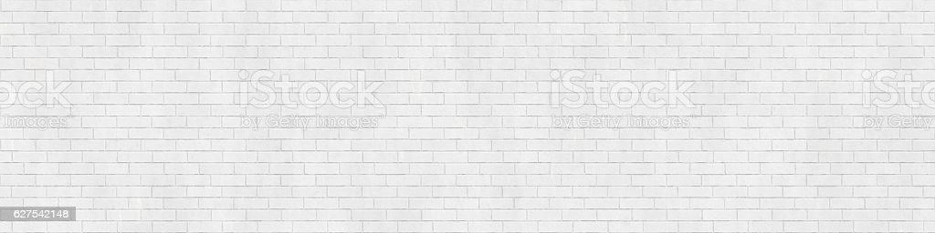 Background texture of white brick wall – Foto