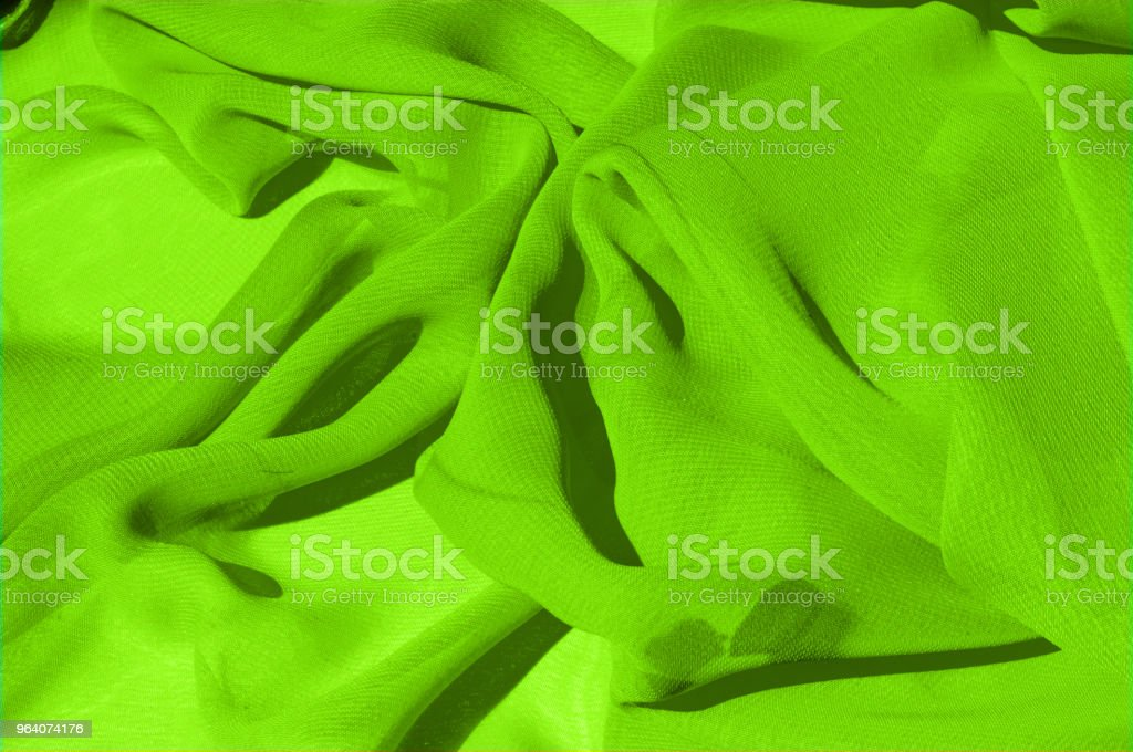 Background texture pattern. Lime Solid Silk Faile. Presenting this high quality silk faille made specifically for Mood This gorgeous, medium-weight fabric contains a rich luminescence is super smooth - Royalty-free Beauty Stock Photo