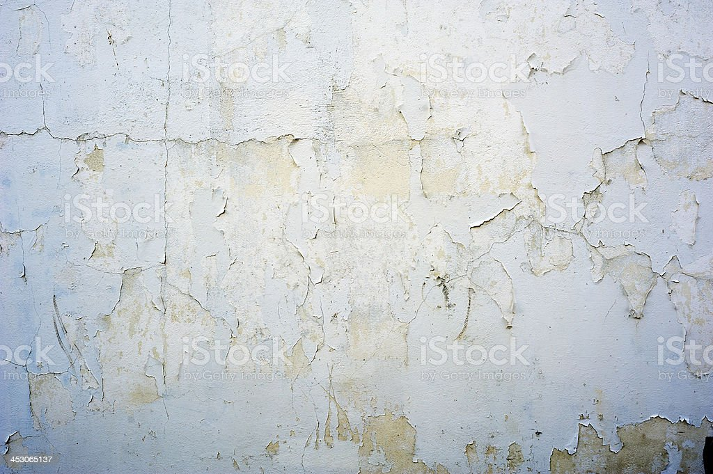 Background, Textured Cracked Blue Wall stock photo