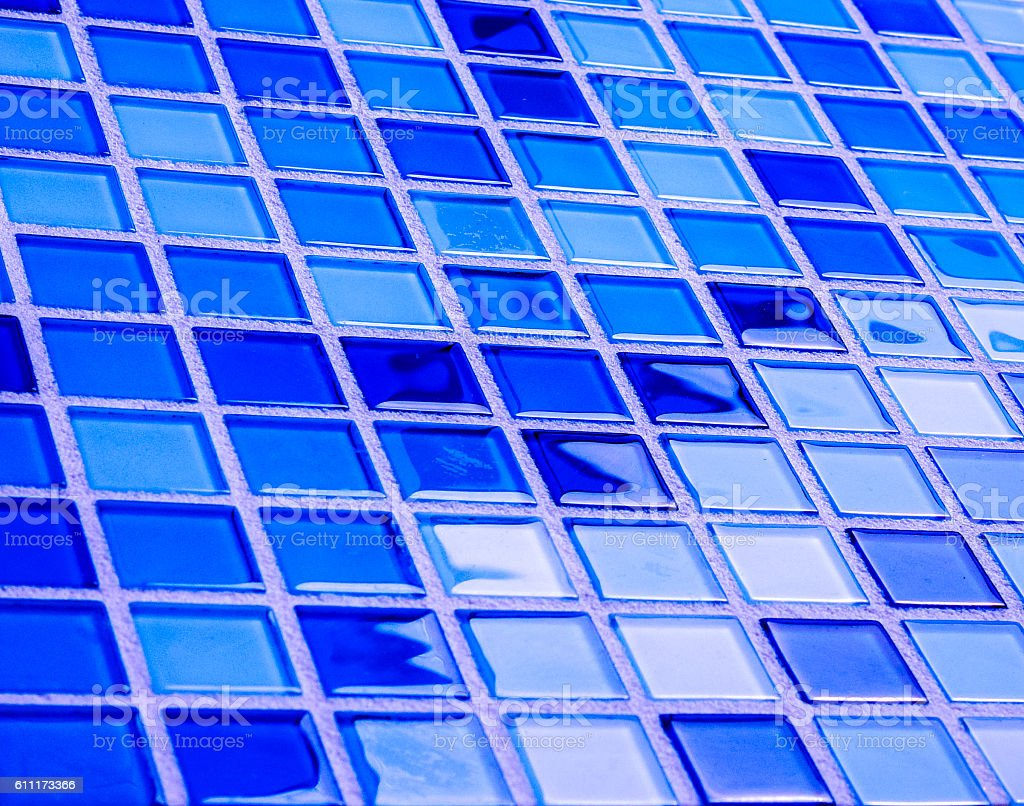 Background tiles in a modern glass mosaic of color stock photo