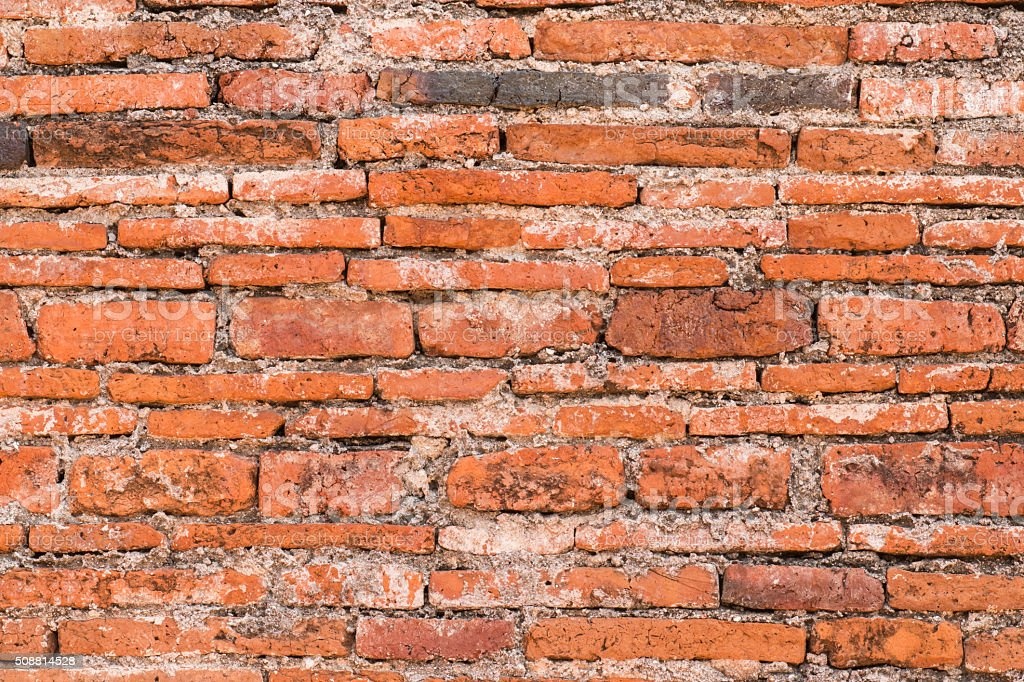 background wall made of red brick stock photo more pictures of
