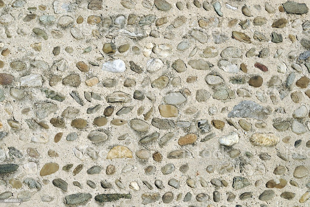 Background. Wall of an ancient church (St. Peter in Agliate) royalty-free stock photo