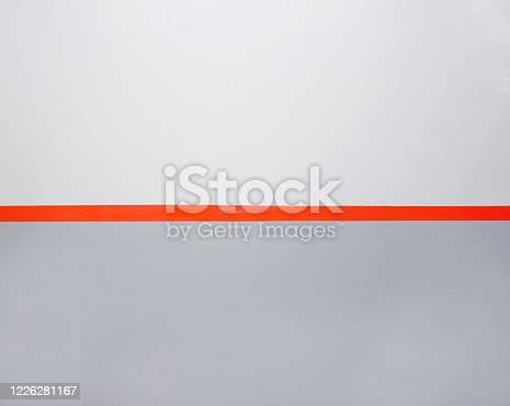 Background, wall with a red line