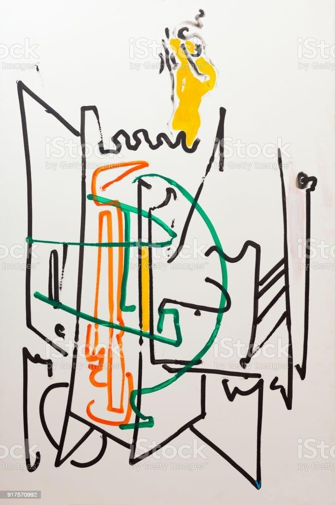 Pintura De Papel Tapiz De Fondo Foto De Stock Y Mas Banco De