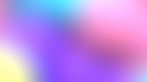 背景, 壁紙 レインボーユニコーン - ホログラム ストックフォトと画像