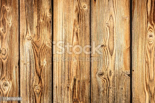 Background with a beautiful texture of the wall of the old boards 2018