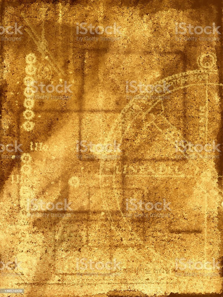 Background with abstract illustration royalty-free stock photo
