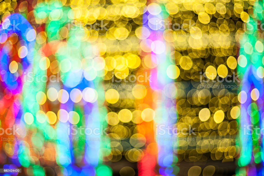 background with bokeh defocused lights 免版稅 stock photo