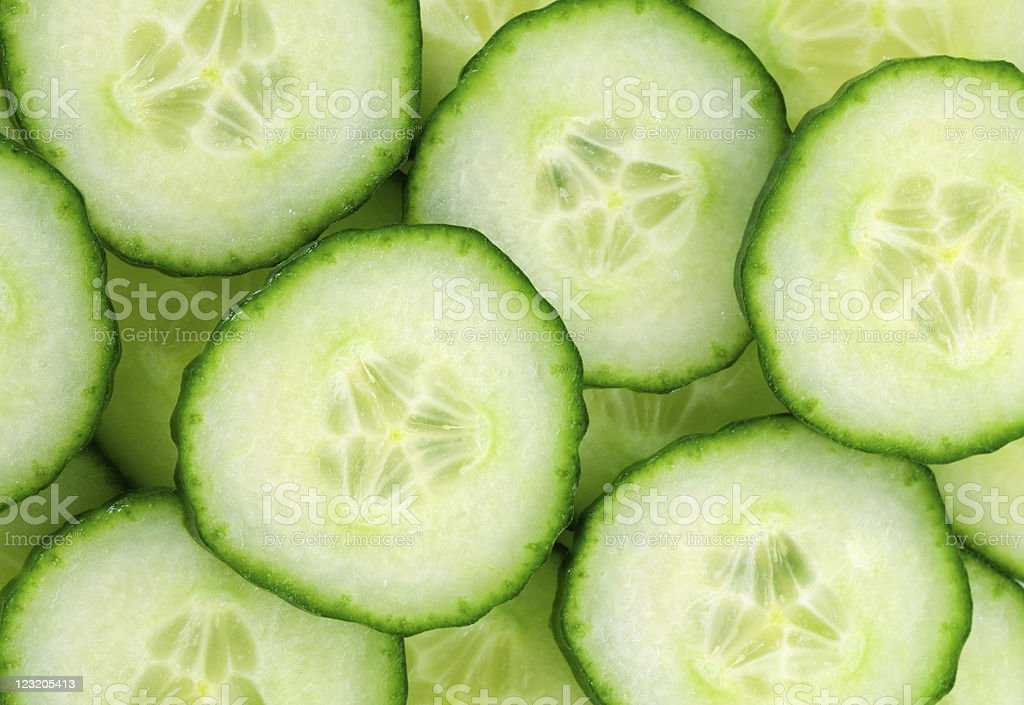 background with cucumbers stock photo