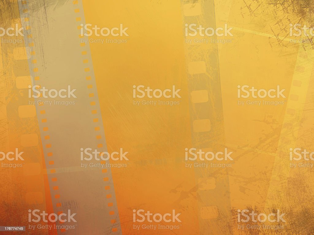 Background with film royalty-free stock photo
