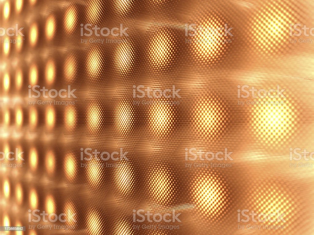 background with glowing dots royalty-free stock photo