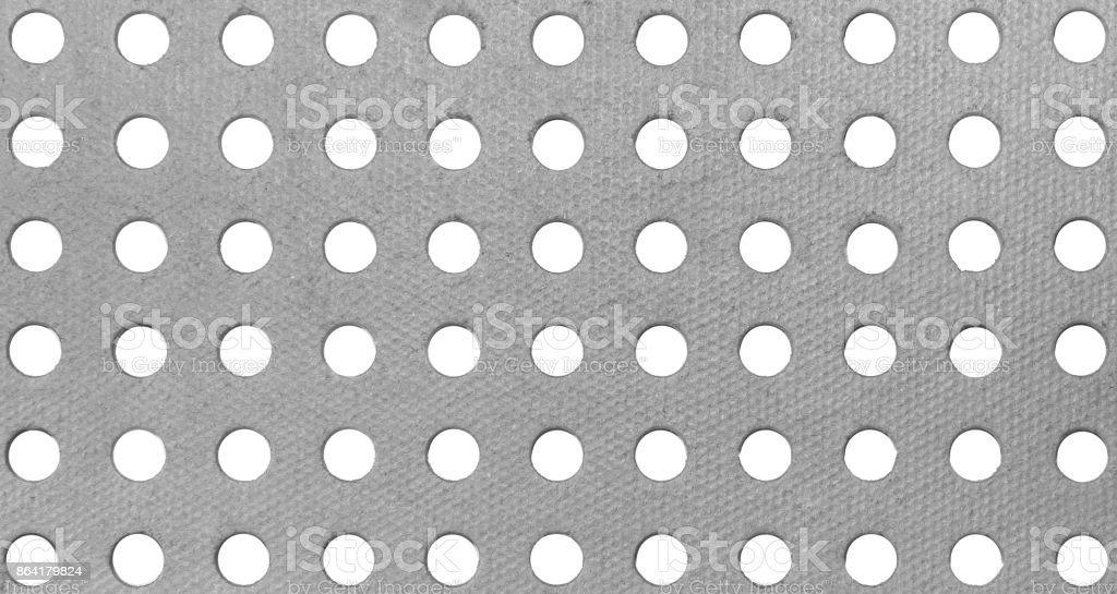 Background with holes royalty-free stock photo