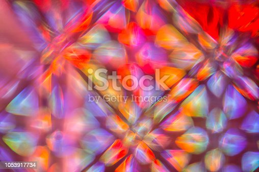 Creative abstract background with light lines