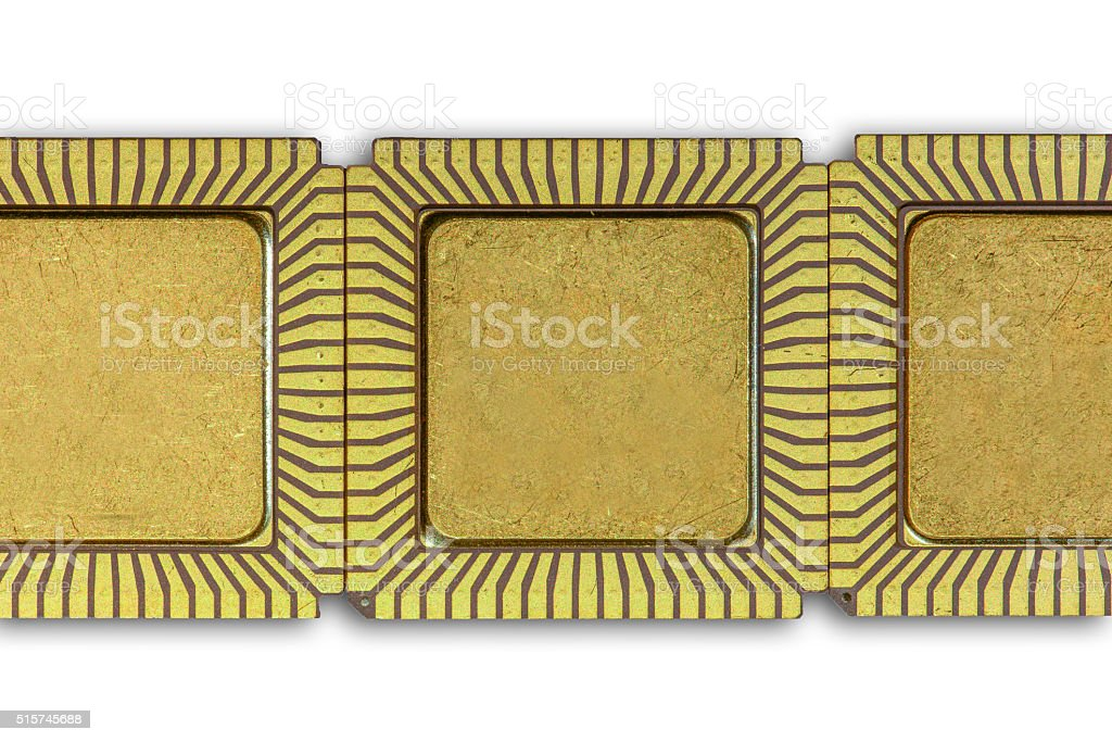 Background with Vintage ceramic CPU stock photo