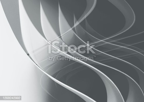 508945010 istock photo Background with wavy elements, abstract 1203242002