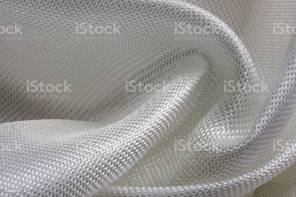 Background with white fiberglass cloth stock photo