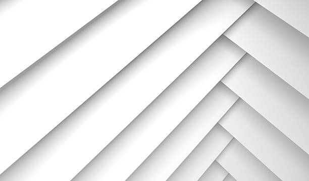 Background with white rectangles pattern, 3d stock photo