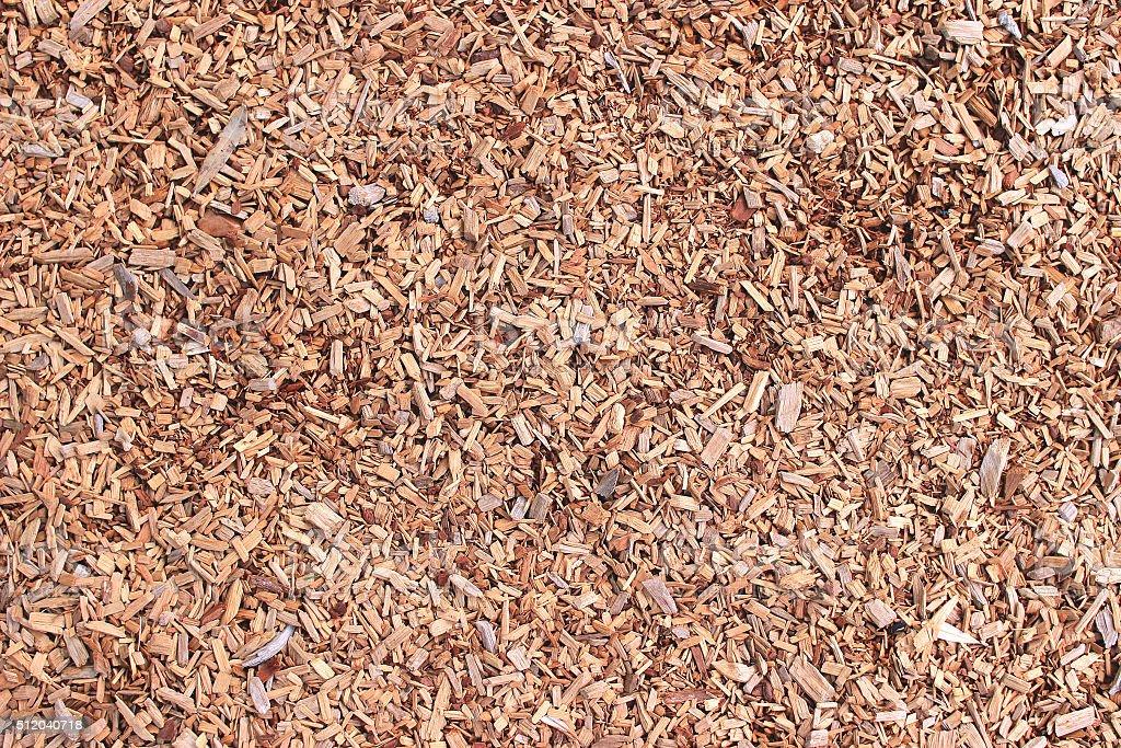 Background wood sawdust stock photo