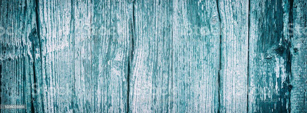 background wooden texture old blue boards stock photo