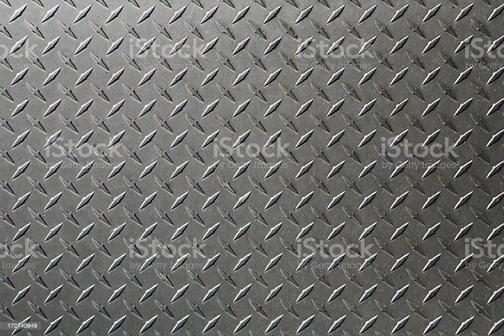 background: XL diamond plate royalty-free stock photo