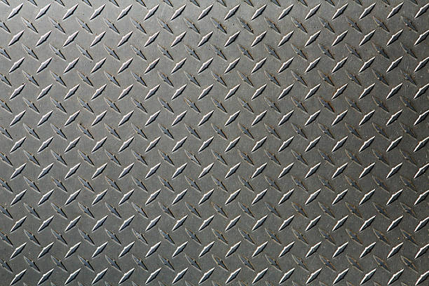background: xl diamond plate - diamond plate background stock photos and pictures
