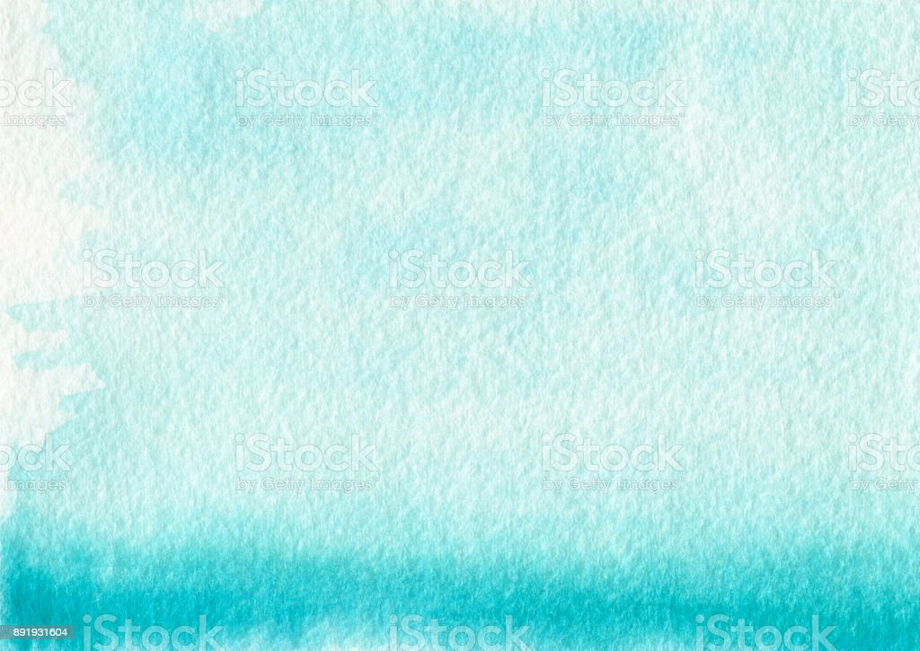 Backgrounds Blue Color Gradient Watercolor Pastel Texture stock photo