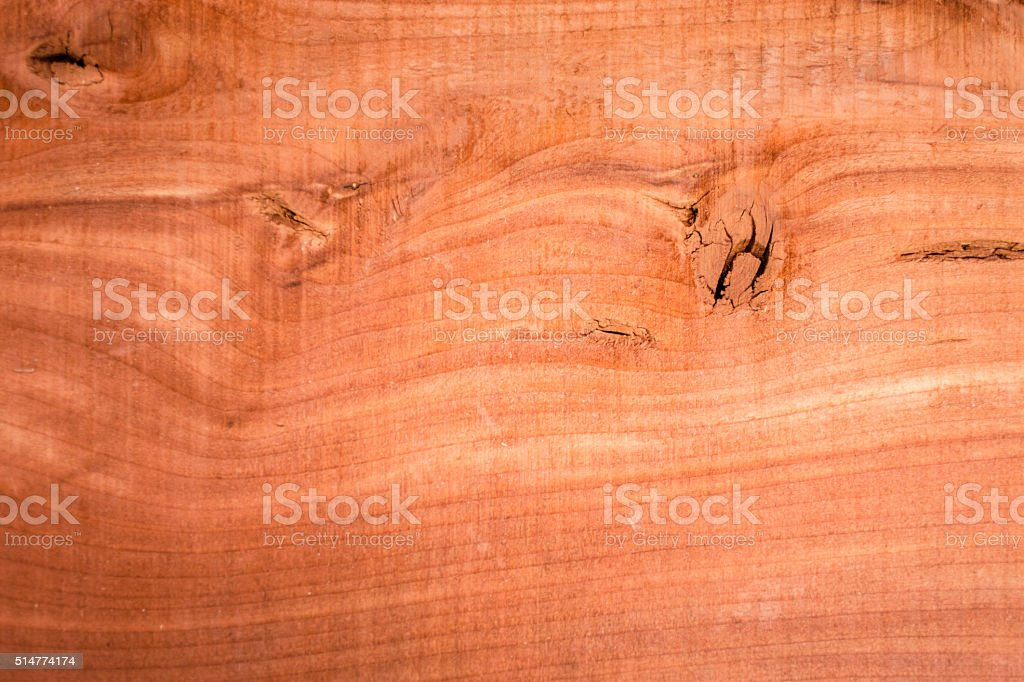 Backgrounds.  Cedar wood plank.  Textured, grained boards. stock photo