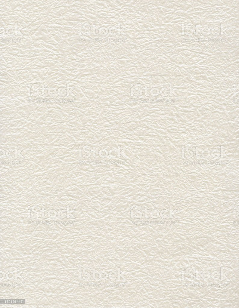 Backgrounds: irridescent off-white paper stock photo