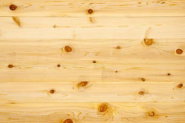 Backgrounds:  Knoty Pine Wood Panel stock photo